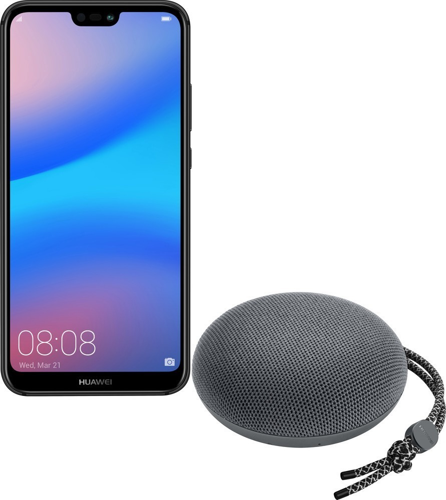 Huawei P20 Lite DS Black + Bluetooth repro