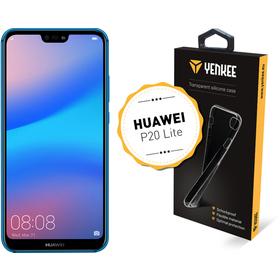Huawei P20 Lite DS Blue + TPU