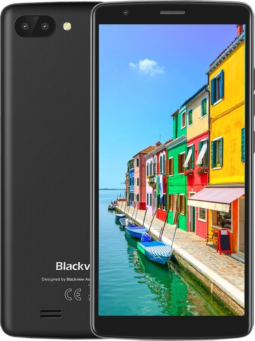 iGET Blackview GA20 5,5IPS 1GB 8GB black
