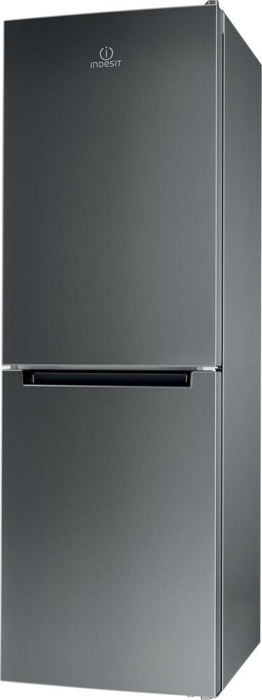 Kombinovaná lednička s mrazákem dole Indesit LR7 S2 X