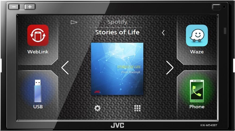 JVC KW-M540BT