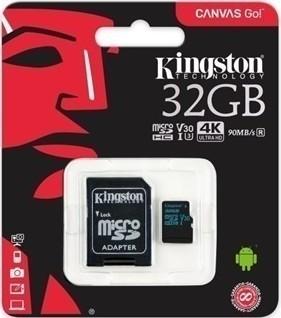 Kingston 32 GB Micro SDHC UHS-I 80r