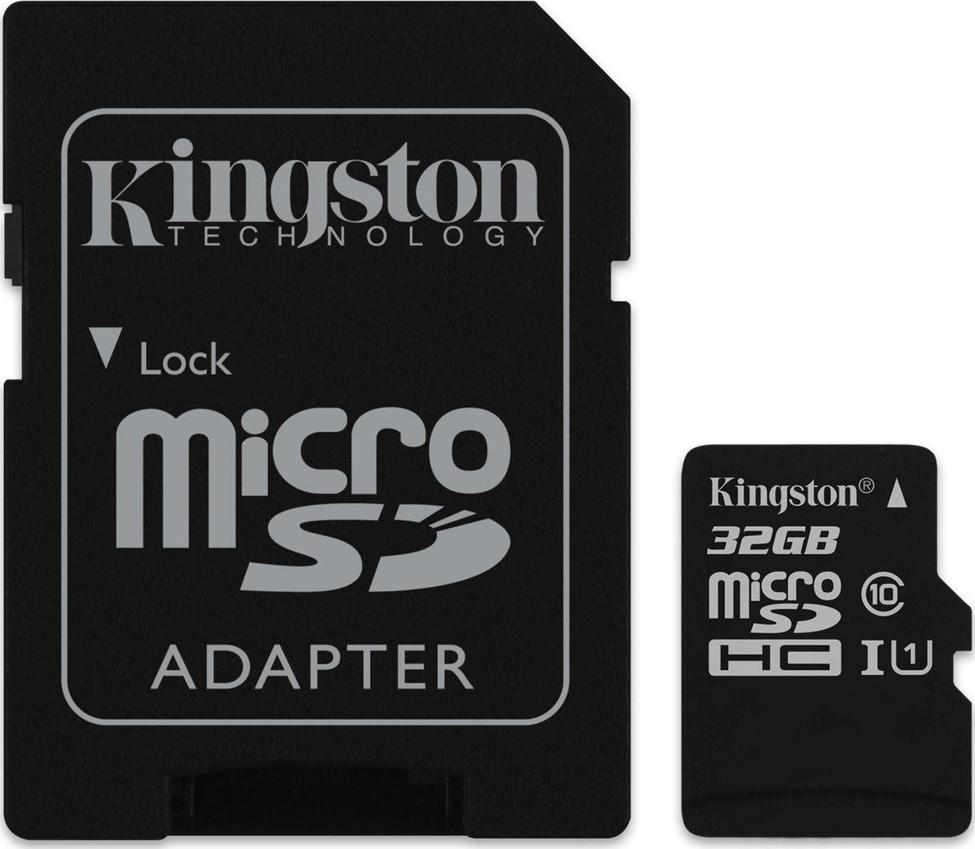 Kingston MicroSDHC 32GB CL10 SDC10G2
