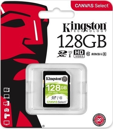 Kingston SDXC 128GB CL10 UHS-I 80R