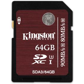 Kingston SDXC 64GB UHS-I U3 90R/80W