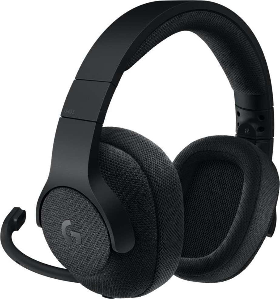 Logitech G433 Gaming Headset Black Emea