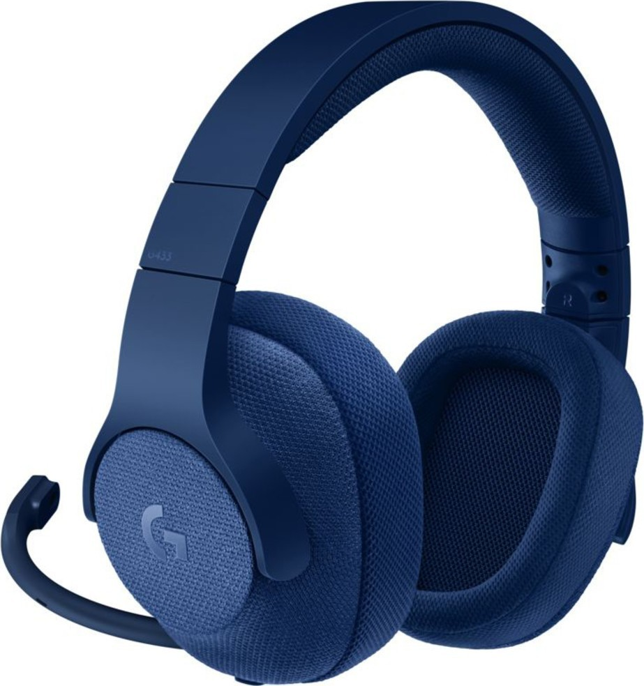 Logitech G433 Gaming Headset Blue Emea