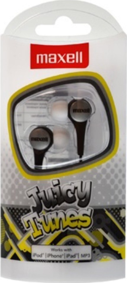 Maxell 303597 JUICY TUNES SILVER