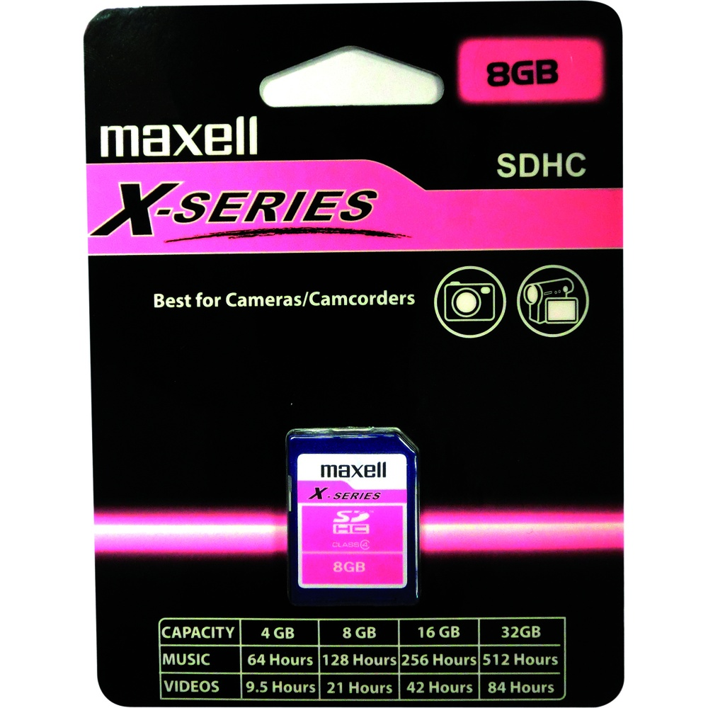 Maxell SDHC 8GB CL4