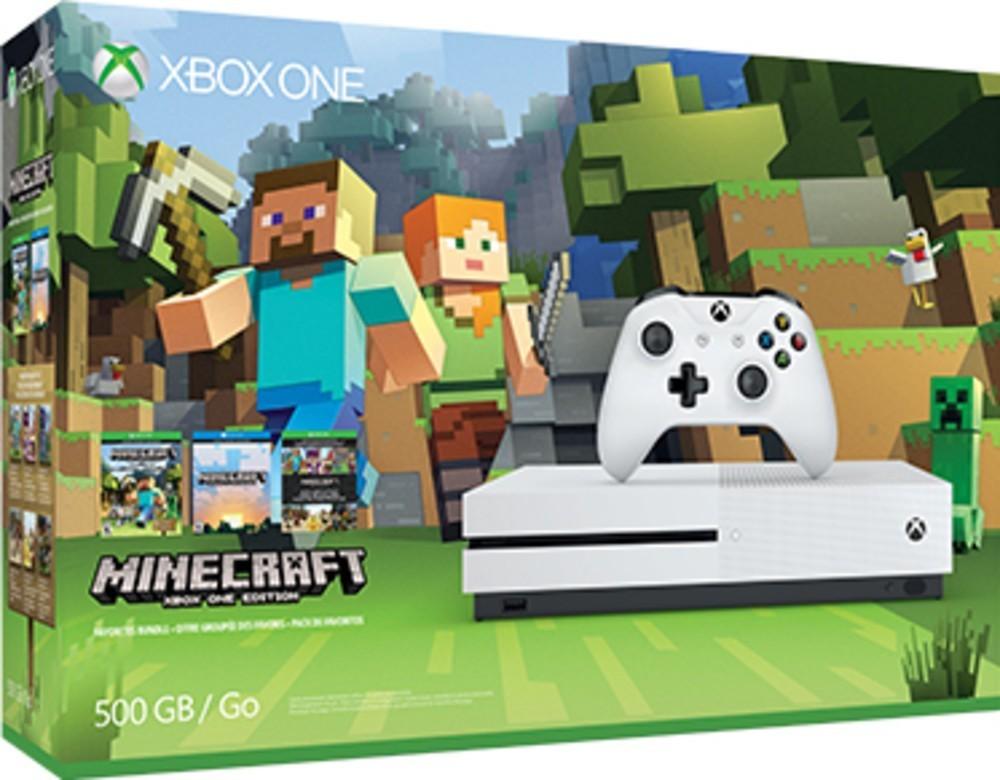 Microsoft XOne S 500GB+Minecraft