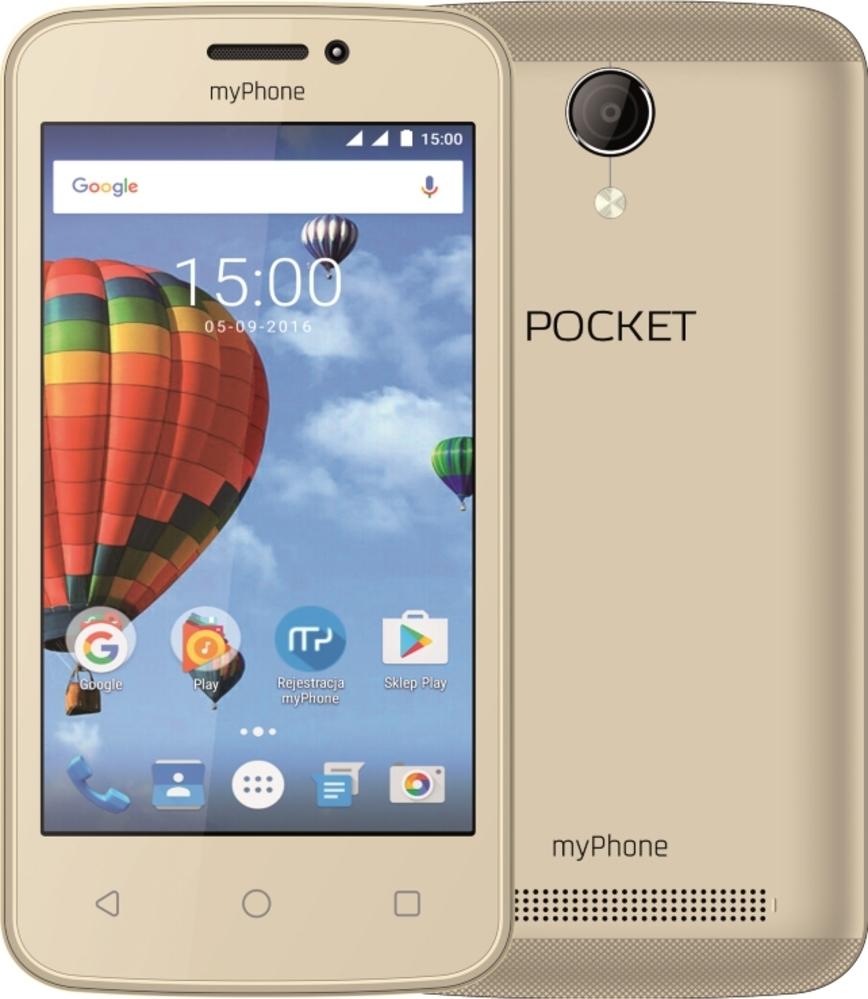 myPhone Pocket DS gold