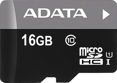 A-Data MicroSDHC 16GB CL10 UHS1