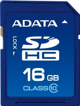 A-Data SDHC 16GB class 10
