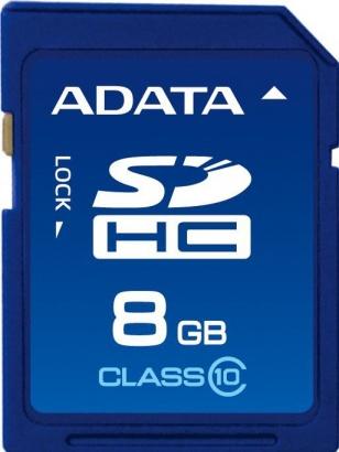 A-Data SDHC 8GB class 10