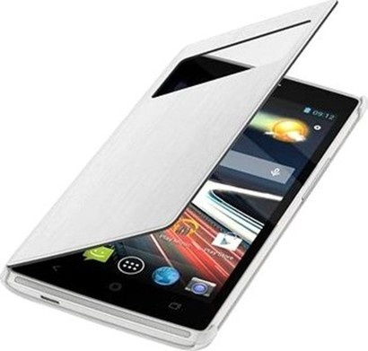 Acer Flip Case pouzdro Liquid Z500 Silver