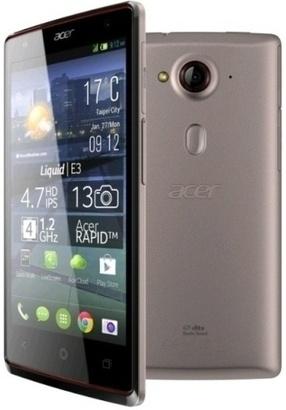 Acer Liquid E3 Dual SIM Silver
