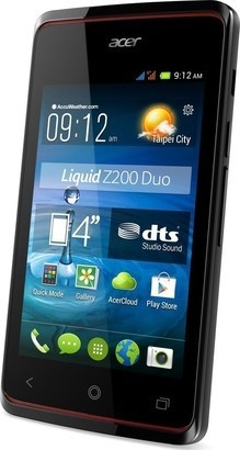 Acer Liquid Z200 Black