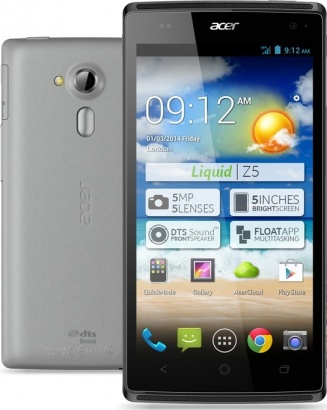 Acer Liquid Z5 Dual SIM Dual Core 5 GREY