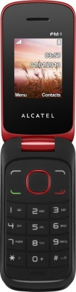 Alcatel One Touch 1030D Flash Red