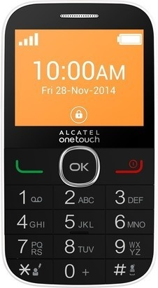 Alcatel One Touch 2004C Pure White
