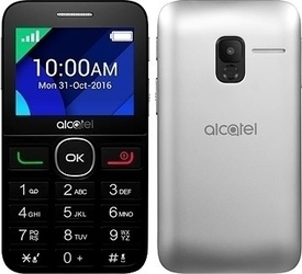 Alcatel One Touch 2008G Black/Metal Silver