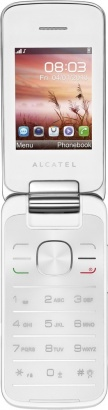 Alcatel One Touch 2010D White