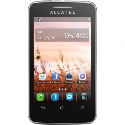 Alcatel One Touch 3040D TRIBE Black