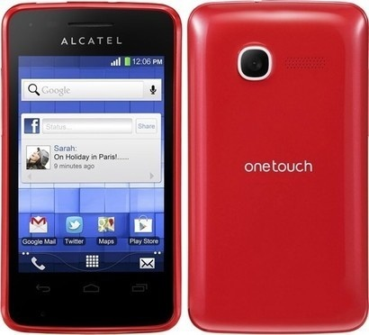 Alcatel One Touch 4010D Flash Red