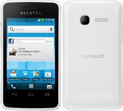 Alcatel One Touch 4010D Pure White