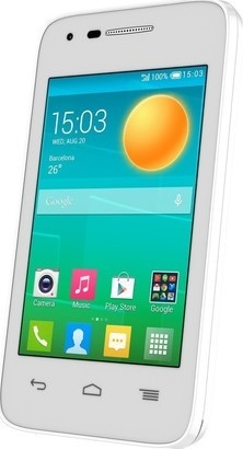 Alcatel One Touch 4018D POP D1 Full White