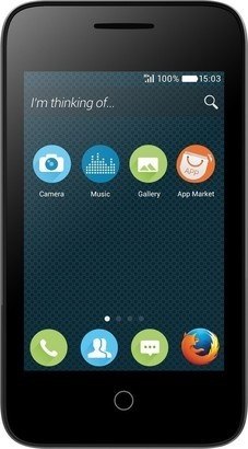 Alcatel One Touch 4022D PIXI 3 FF Black
