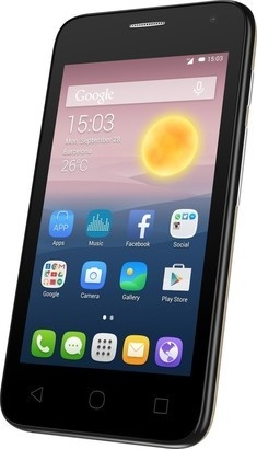 Alcatel One Touch 4024D Pixi First Gold