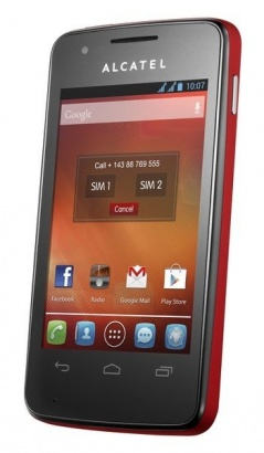 Alcatel One Touch 4030D S´POP Cherry Red