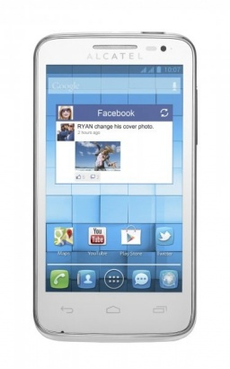 Alcatel One Touch 5020D M´POP Pure White