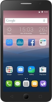 Alcatel One Touch 5022D POP Star Black