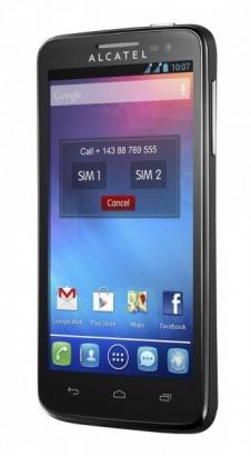 Alcatel One Touch 5035D X´POP Black
