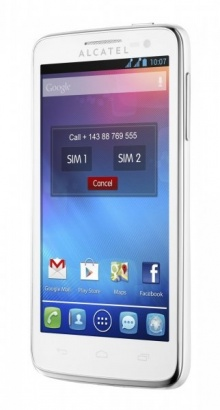 Alcatel One Touch 5035D X´POP White