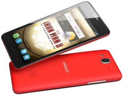 Alcatel One Touch 6033 IDOL ULTRA Red