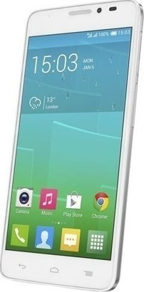 Alcatel One Touch 6043D Idol X+ White