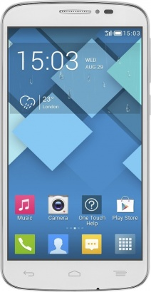 Alcatel One Touch 7041D POP C7 White