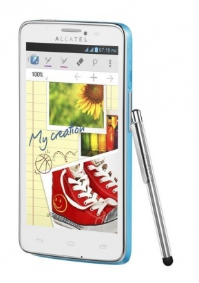 Alcatel One Touch 8000D SCRIBE EASY Turq