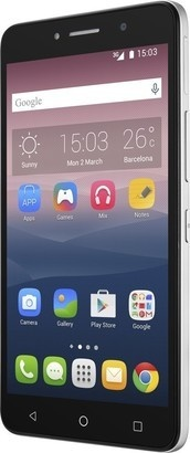 Alcatel One Touch PIXI 4 (5) 5010D Metal Silver
