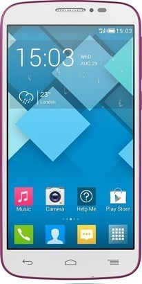 Alcatel One Touch POP C7 Pink + 16GB karta
