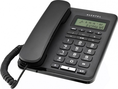 Alcatel One Touch Temporis 50 tel LCD Black