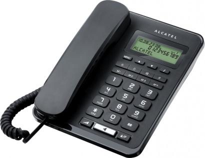 Alcatel One Touch Temporis 60 tel LCD Black