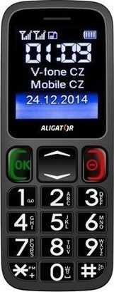 Aligator A320 Senior Black