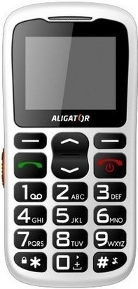Aligator A430 White Orange