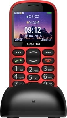 Aligator A880 GPS Senior Red