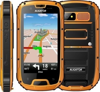 Aligator RX430 eXtremo Black-Orange