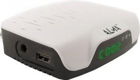 Alma DVB-T2 HD přijímač 2761 bílý